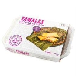 Tamales Chicken Tinga | Pack of 3 | Buy Online | Mexican | UK